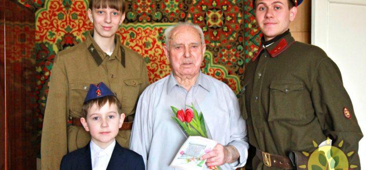 Ржевский благотворительный фонд «Добро» 1 и 2 марта провел военно-патриотическую акцию «Фронтовая бригада» в честь 3 марта