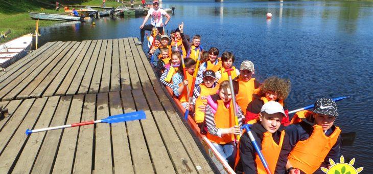 Добрый плавательный сезон по гребле на лодках открыт!